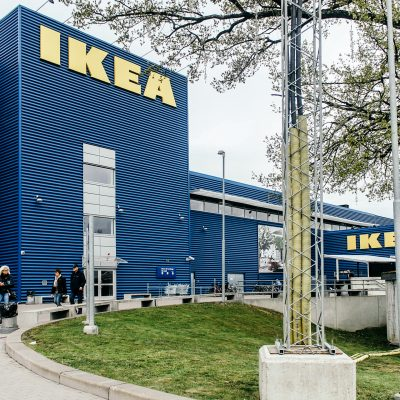 Play in Stockholm: </br>World's Largest IKEA (Kungens Kurva)