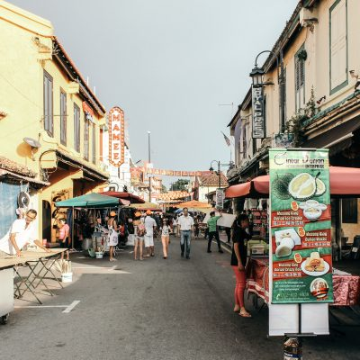 Take Me To:</br> Jonker Street, Malacca