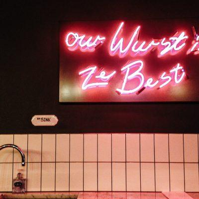 Eat in London: </br>Ze best wurst at Herman Ze German