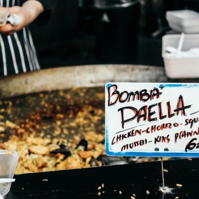 Eat in London:</br> Street Food Gourmet at Borough Market