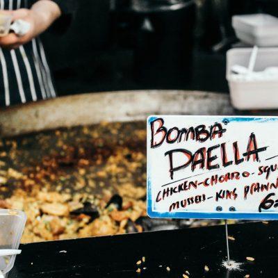 Eat in London:</br> Street Food Gourmet at Borough Market